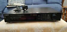 Sony ST-S370 RDS Direct Comparator FM Stereo and AM Tuner