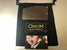 OroX Leather Card Holder OROX Leather Co.