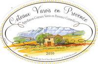 Etiquette de vin - Wine Label - Coteaux Varois en Provence - 2010