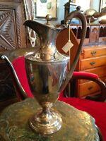 Antique English Sheffield Silver Wine Ewer 1790-1810  Wine Decanter Fine Dining