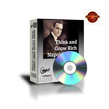 Think And Grow Rich  AUDIOBOOK  mp3 Files on CD  By Napoleon Hill #1 Best Seller