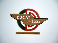 Adhesivo lateral deposito Ducati 200 Elite.