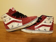 2011 Supreme Vans Sk8-Hi Flies size 8.5 Burgundy mens 49aca9453