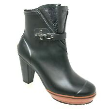 Sorel Medina High Heel Rain Boots Black 10.5 RARE