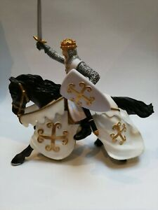 papo knight Chainmail Knight Figure (Multi-Colour) Rare Used figure