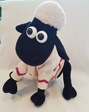 "LARGE Shaun the sheep soft toy  hot water bottle pyjama case 16"""