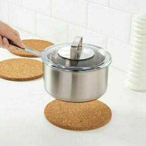 IKEA Heat POT STAND Cork Water-Resistant Heat resistant Pot Stand 19cm UK Seller