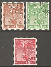 Olympics Used German & Colonies Stamps