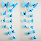 DIY 3D Butterfly Wall Stickers Art Design Decal Room Decor Home Decoration,12pcs