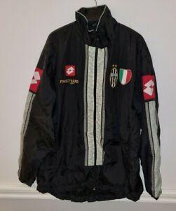 JUVENTUS Lotto 2001 Football Jacket Men's Full Zip Coat Not Shirt Soccer Jersey