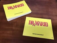 DR MARIO NINTENDO NES VIDEO GAME MANUAL INSTRUCTION BOOKLET BOOK FREE S/H