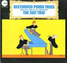 THE SUK TRIO & PANENKA BEETHOVEN Piano Trios Opus 1,No.3 & 70, Geistertrio / NM