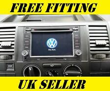 VW SAT NAV DVD Player Android Bluetooth Transporter T5 T28 T30 Caravelle Van GPS