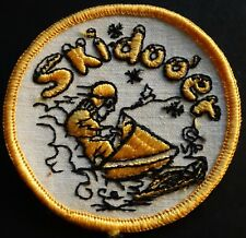 "VINTAGE SKI-DOO SKIDOOER SNOWMOBILE PATCH NEW 3"" X 3"" NICE"