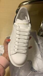 Alexander McQueen Sneakers Size US8 EU39 Black/White