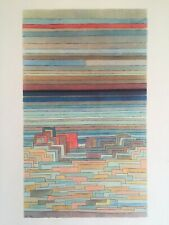 "PAUL KLEE RARE 1969 ABSTRACT MODERNIST LITHOGRAPH PRINT ""CITY ON A LAGOON"" 1932"