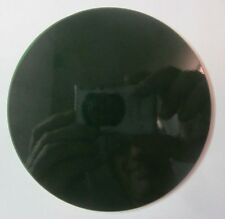 """1 Pyrex Green Glass Theater Stage Light Gel Flat Diffuser Round Lense 4-5/16"""""""