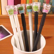 Creative Cultivate Plant Gel Pen Garden Grow Grass Pens Children Stationery Gift