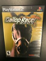Gallop Racer 2004 PS2 Complete CIB Tested Playstation 2 Sony