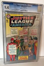 JUSTICE LEAGUE OF AMERICA #28 - CGC 9.4  - OFF WHITE TO WHITE PAGES