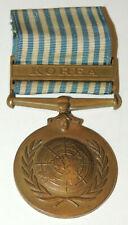 Post WW1 WW2 Korean War UN Canadian United Nations Korea Medal named !