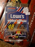 2003 jimmie johnson 48 lowes/power of pride 1 64th scale diecast  action