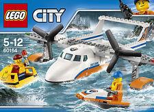 LEGO CITY 60164 - rettungsflugzeug, NUEVO / embalaje original