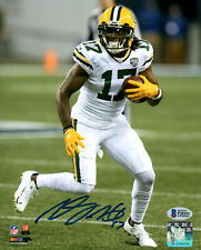 Packers Receiver DAVANTE ADAMS Signed 8x10 Photo #2 AUTO ~ 2014 Draft Pick