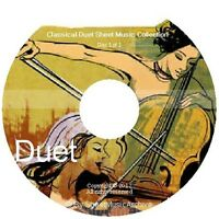 Massive Professional Duet Duo Sheet Music Collection Archive Library on DVD