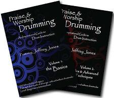 PRAISE & WORSHIP DRUMMING - VOL 1 & 2 - BASIC & ADVANCED DRUM INSTRUCTION DVDs