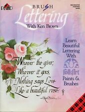 Brush Lettering With Ken Brown Painting