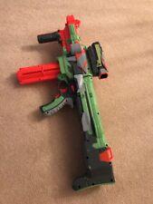 NERF VORTEX NITRON ELECTRIC DART DISC SHOOTER TOY GUN, SCOPE, CARTRIDGE +6 DISCS