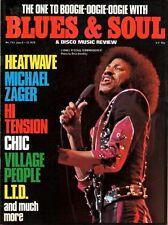 Lionel Richie on Blues & Soul Cover Issue 253 1978  Heatwave Chic Village People