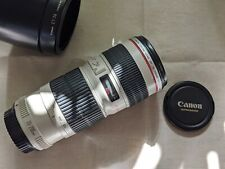 Canon EF 70-200mm f/4 L USM Zoom Lens EXC++ Condition