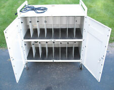 New listing Bretford Mobility Cart For Laptop Notebook Charging Station Cabinet