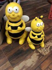 Bienen Figur Willi 22cm H Gartenfigur Dekofigur bunte Gartendeko  Insekten #3614