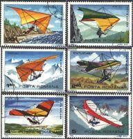 Rumänien 3880-3885 (kompl.Ausg.) gestempelt 1982 Drachenfliegen