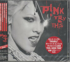 Pink Try This CD NEU Trouble God Is A DJ Last To Know Tonight's The Night