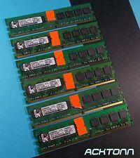 New listing 6Gb Lot Kingston 6x 1Gb Kvr800D2N5/1G 1.8V Ram Memory Modules