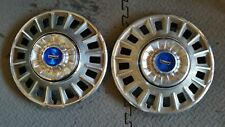 (1) 1968 Ford Fairlane Torino Hubcap Wheel cover 14 Inch blue center emblem