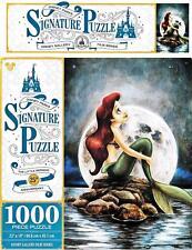 DISNEY PARKS SIGNATURE PUZZLE THE LITTLE MERMAID 25TH ANNIVERSARY 1000 PCS