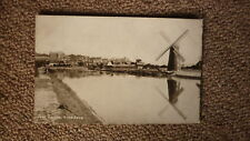 OLD BRITISH POSTCARD c1900, VIEW OF THE RIVER ARUN ARUNDEL ENGLAND