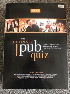 NEXT The Ultimate Pub Quiz