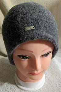 Coal Headwear THE ASHER Fine Knit 100% Merino Wool Beanie in Charcoal NWT