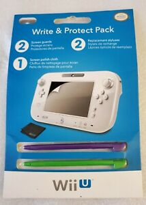 PDP Wii U write and protect pack (stylus, cleaning cloth and screen protectors)