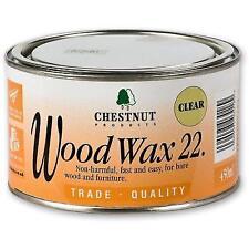 Chestnut Products Ww22 Wood Wax 22 450ml Clear