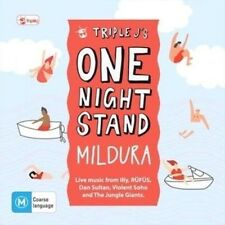 Triple J's One Night Stand Mildura CD DVD 2-disc NEW
