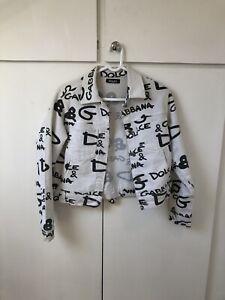 D&G Graffiti Jacket