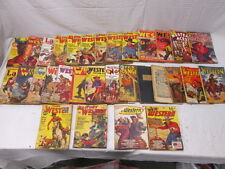 1930s-40s Western Stories Magazines Assorted 31 in All Texas Rangers Lariat etc