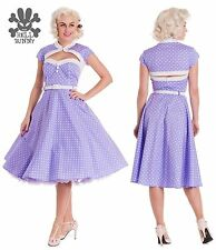 Hell Bunny Party Spotted Dresses for Women